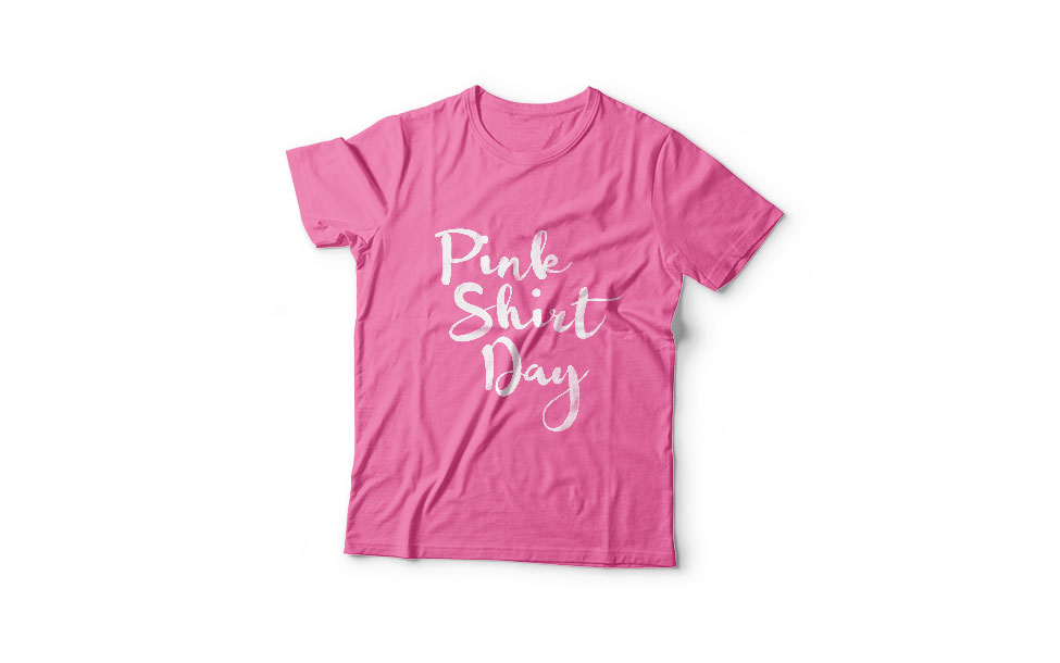 Pink Shirt Day with Nisga'a School District