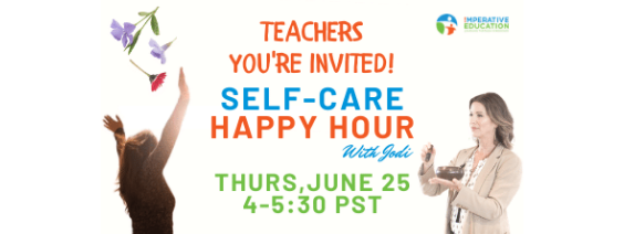 A Self-Care HAPPY HOUR on June 25th